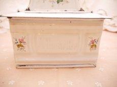 画像4: エトワール社白小花柄アリュメット缶 (4)