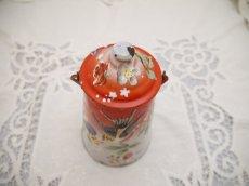 画像4: JAPY社鳥のハンドペイントのミルクポット (4)