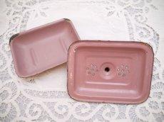 画像5: ピンク小さなソープディッシュ (5)
