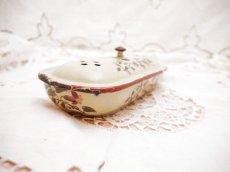 画像4: ホーロー製花柄歯ブラシ入れ (4)