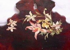 画像4: 蝶と蘭の柄パピエマシェレターラック (4)