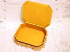 画像5: メタルレースロココリボン装飾カルトナージュボックス (5)