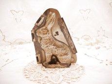 画像1: ウサギのモールド(チョコレート型) (1)