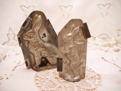 画像1: ウサギのモールド(チョコレート型)