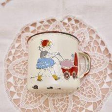 画像2: 通常価格¥8000→¥4000*ヴィンテージ ホーロー製の子供用ミルクカップ (2)