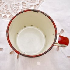 画像5: 通常価格¥8000→¥4000*ヴィンテージ ホーロー製の子供用ミルクカップ (5)