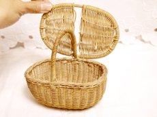 画像7: ドール用ミニパニエ かごバスケット (7)