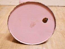 画像8: エトワール社 ピンク色の鳥とデイジー柄大きめジャグ (8)