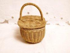 画像4: ドール用ミニパニエ かごバスケット (4)