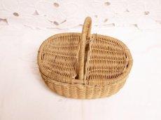 画像5: ドール用ミニパニエ かごバスケット (5)