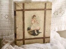 画像1: R&C社古い糸の箱 (1)