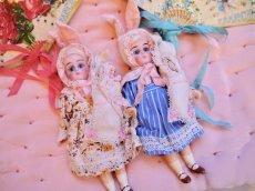 画像9: K&Rバニードールブルーストライプドレス (9)