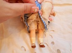 画像7: K&Rバニードールブルーストライプドレス (7)