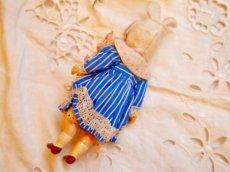 画像6: K&Rバニードールブルーストライプドレス (6)