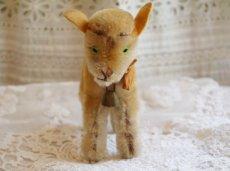 画像2: シュタイフ社ヤギのぬいぐるみ (2)
