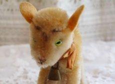 画像4: シュタイフ社ヤギのぬいぐるみ (4)