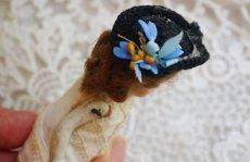 画像4: 帽子をかぶった小さなミニョネット (4)