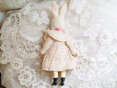 画像4: K&Rバニードール ピンク系チェック柄ドレス (4)