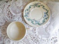 画像4: クレイユモントロー花とリボンのカップ&ソーサー.a (4)
