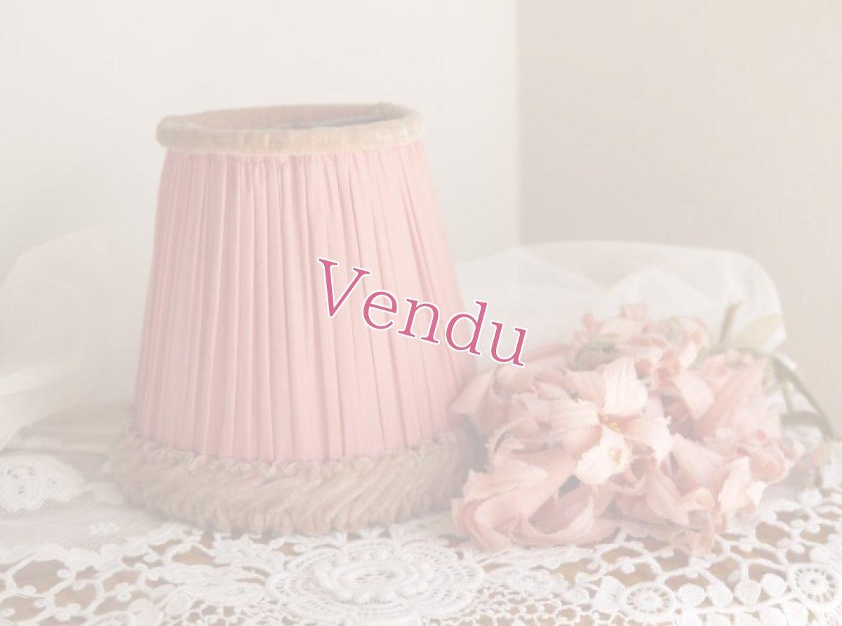 画像1: ピンクのランプシェード (1)
