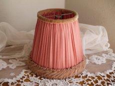 画像2: ピンクのランプシェード (2)