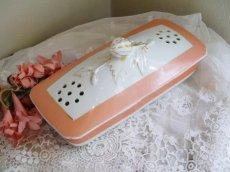 画像1: 通常価格¥8000→¥4000*いちごモチーフ陶器の歯ブラシケース (1)