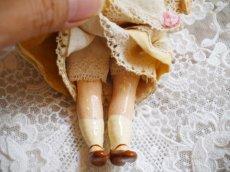 画像7: K&Rバニードール イエロー系小花柄ドレス (7)