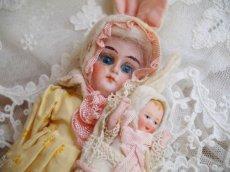画像4: K&Rバニードール イエロー系小花柄ドレス (4)