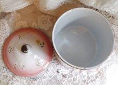 画像5: ジャピー社 ピンクぼかし花模様のキャニスター (5)