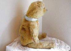 画像4: ストライプリボンのクマのぬいぐるみ (4)