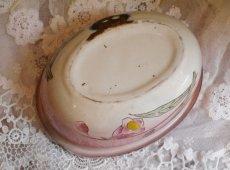 画像8: ホーローお花柄ピンクのソープディッシュ (8)