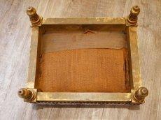 画像7: ルイ16世様式 ゴブラン織り フットスツール (7)