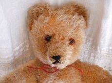 画像4: 明るめブラウンのクマのぬいぐるみ (4)