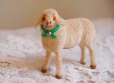 画像2: 小さな羊の置物 (2)