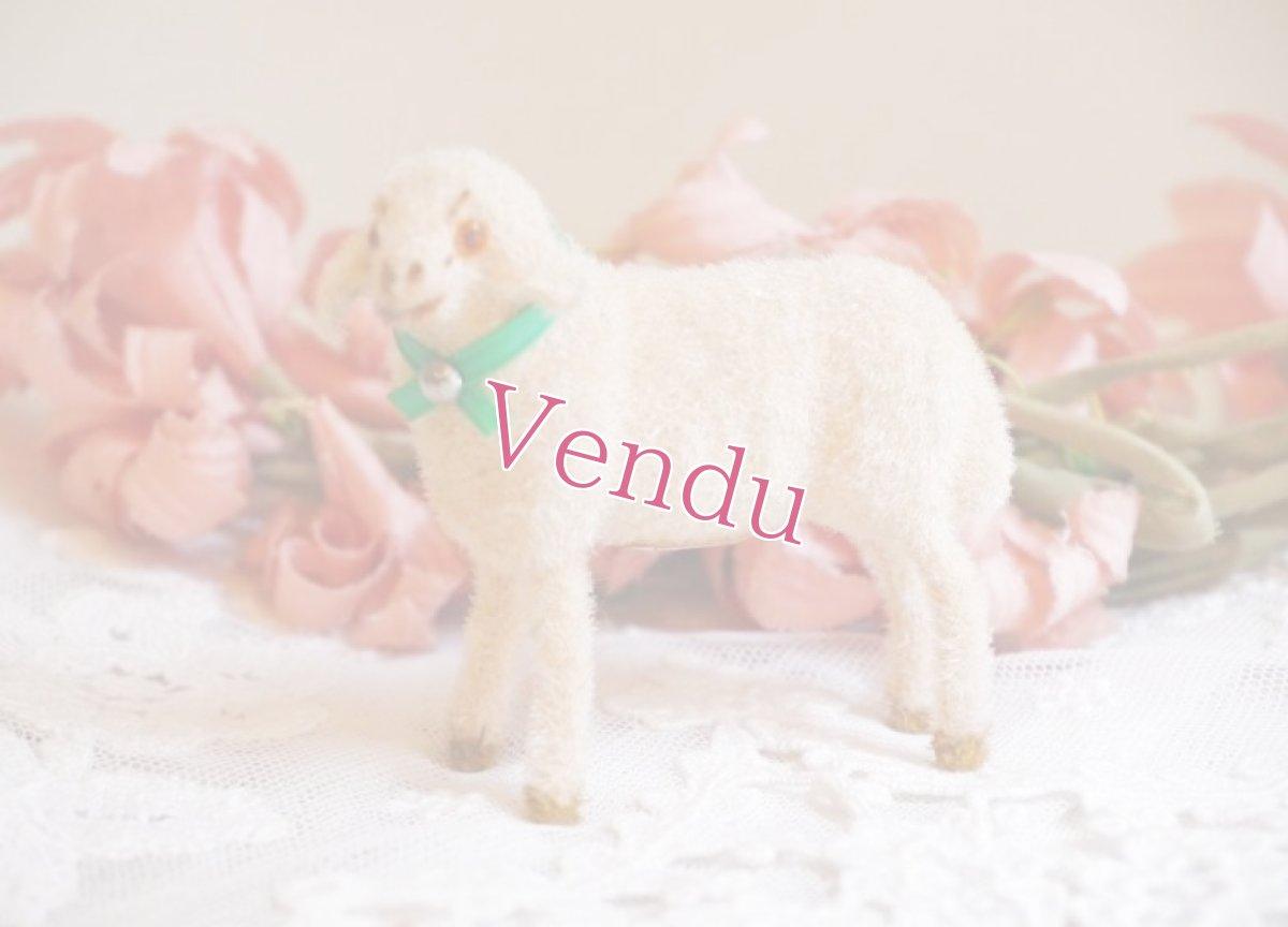 画像1: 小さな羊の置物 (1)
