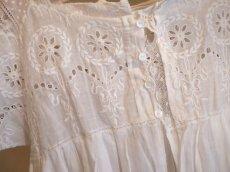 画像5: 綿ローン ホワイト刺繍 子供ドレス (5)