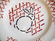 画像4: クレイユエモントロー うさぎ柄おままごと小皿 (4)