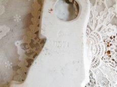 画像7: 天使と子供の陶器の聖水盤 (7)