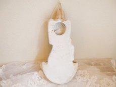 画像2: 天使と子供の陶器の聖水盤 (2)