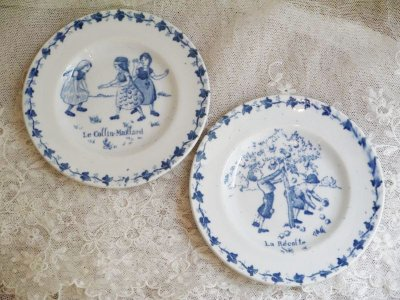 画像1: ジアン おままごと子供柄のお皿