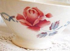 画像3: ディゴワン 薔薇柄カフェオレボウル CANNES (3)