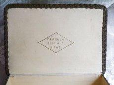 画像7: チョコレートの古い紙箱 (7)