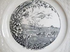 画像4: Saint-Amand&Hamage絵皿 (4)