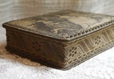 画像5: チョコレートの古い紙箱 (5)