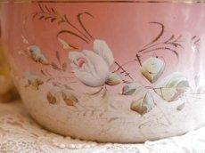 画像5: ピンクぼかし薔薇と花柄のスーピエール (5)