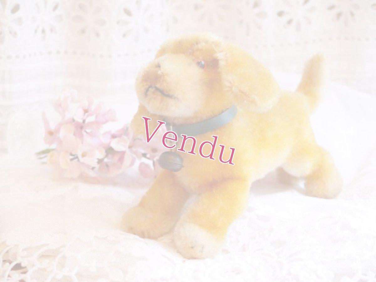 画像1: 通常価格¥8200→¥5740シュタイフ 犬のぬいぐるみ (1)