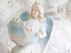 画像6: ブルー系天使の聖水盤 (6)