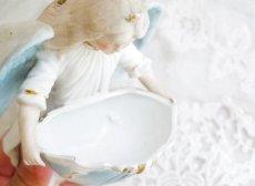 画像7: ブルー系天使の聖水盤 (7)