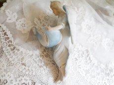 画像2: ブルー系天使の聖水盤 (2)
