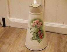 画像3: ジャピー社 ピンクの花柄大きめジャグ (3)